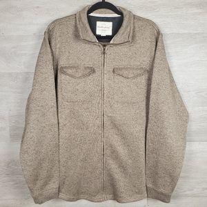 Weatherproof Fleece Shirt Jacket Size XL
